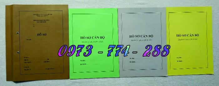 Bộ hồ sơ cán bộ công chức, viên chức, quảng cáo mẫu đẹp chuẩn21