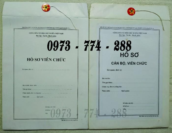 Bán vỏ hồ sơ cán bộ công chức viên chức23