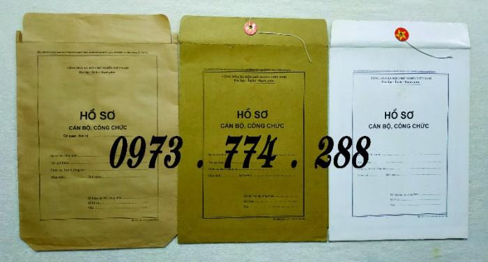 Bán vỏ hồ sơ cán bộ công chức viên chức24