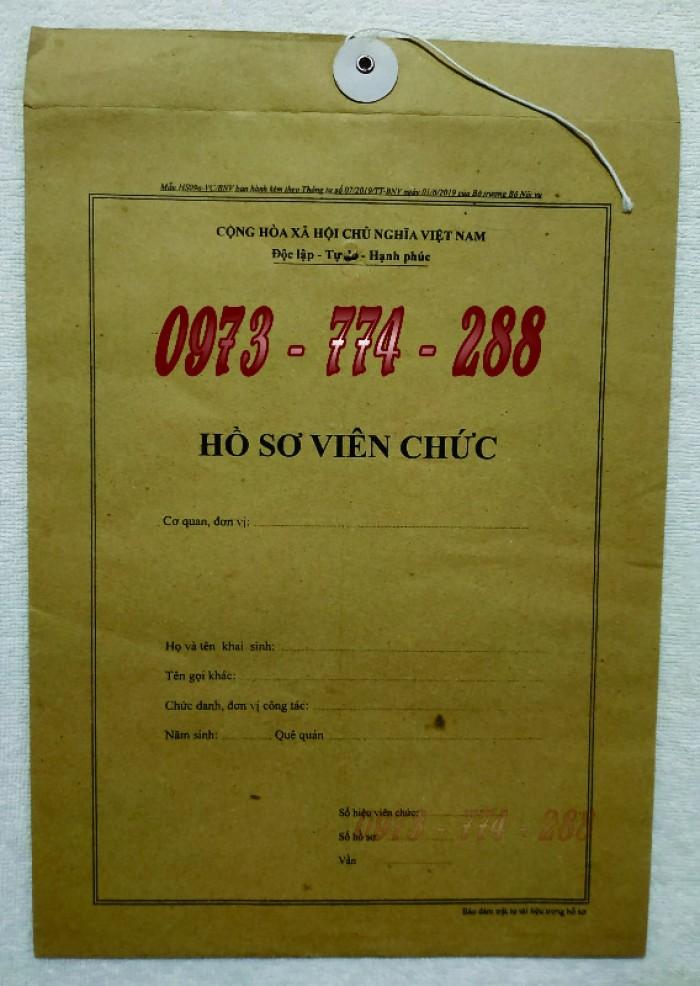 Bán vỏ hồ sơ cán bộ công chức viên chức29