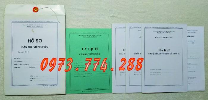 Trọn bộ mẫu Hồ sơ Công Chức, Viên Chức7