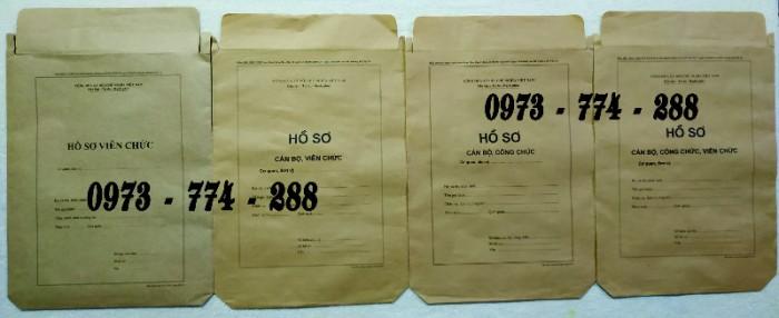 Bì hồ sơ viên chức theo Thông tư 07/2019/TT-BNV ngày 01/06/2019 của Bộ Nội vụ.14