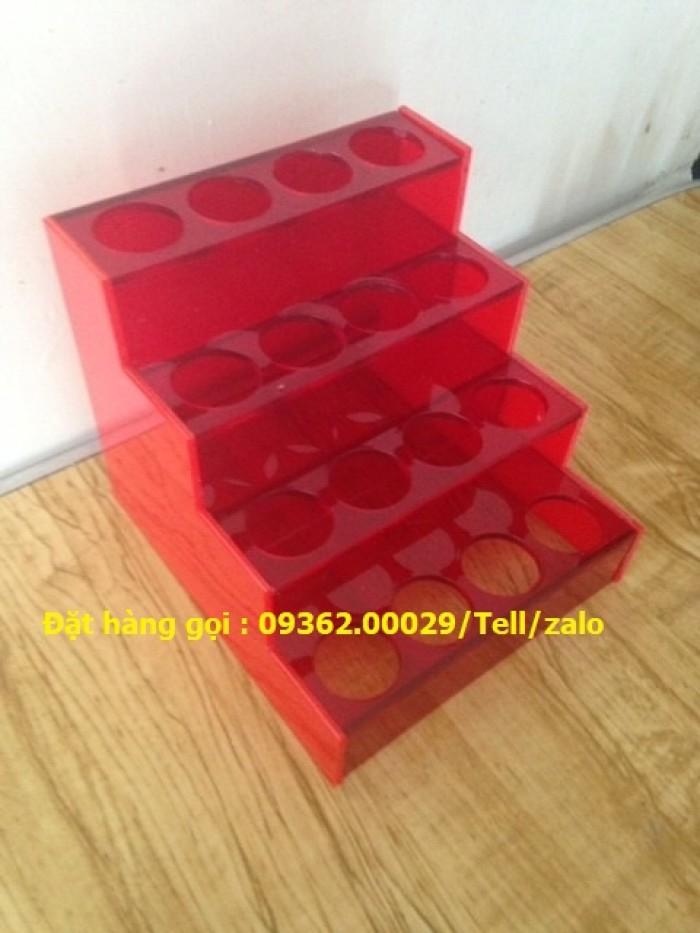 Cung cấp các mẫu khay mica đựng mỹ phẩm , kệ đựng nail treo tường giá rẻ12