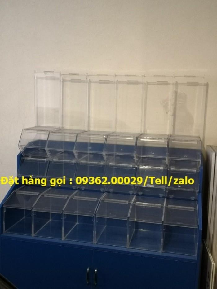 Cung cấp các mẫu khay mica đựng mỹ phẩm , kệ đựng nail treo tường giá rẻ13