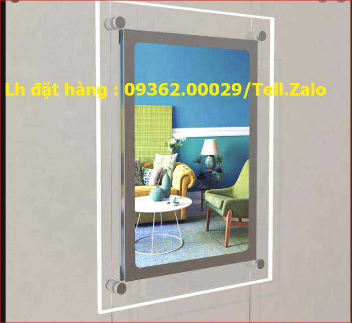 Sản xuất lắp đặt tai nhà khung treo tranh ảnh , poster1