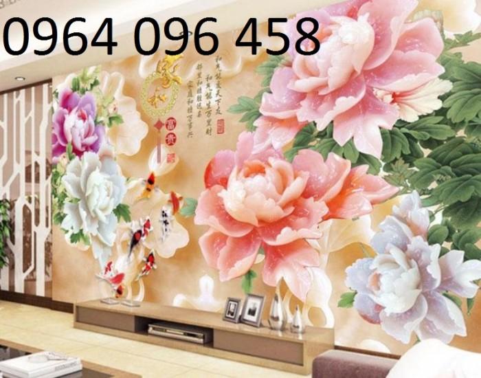 Gạch tranh 3d - tranh gạch 5d dán tường trang trí3
