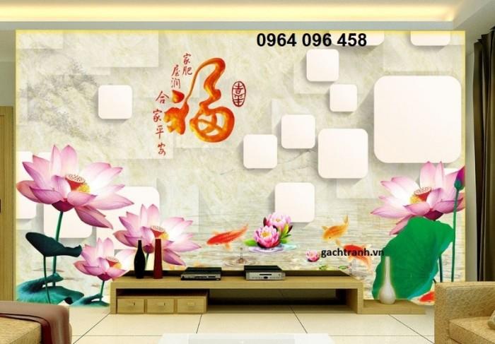 Gạch tranh 3d - tranh gạch 5d dán tường trang trí22