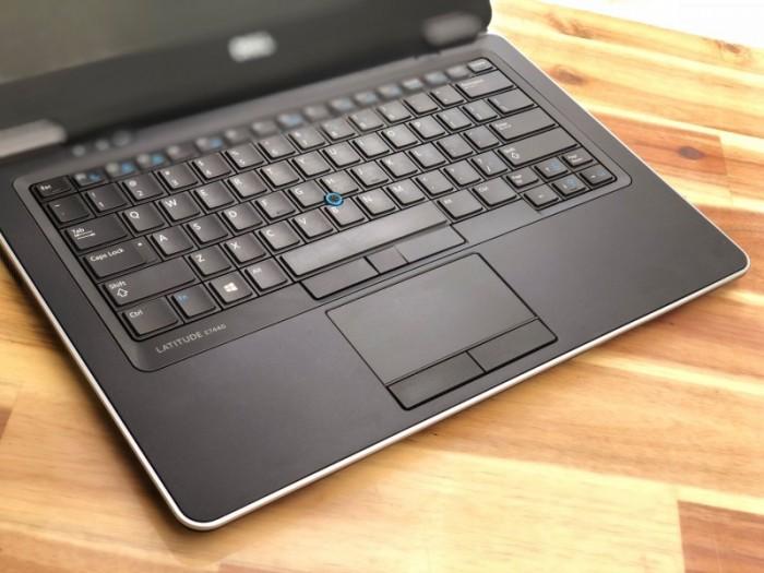 Laptop Dell Ultrabook E7440, i7 4600U 8G SSD256G Full HD Đèn phím Đẹp zin 1004
