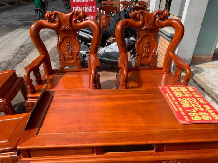 Bộ bàn ghế giả cổ minh quốc đào gỗ gụ0