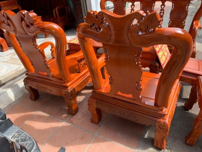 Bộ bàn ghế giả cổ minh quốc đào gỗ gụ5