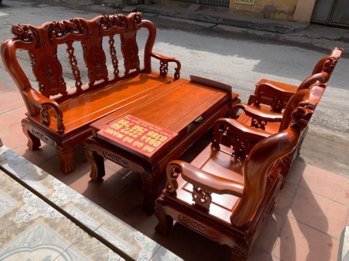 Bộ bàn ghế giả cổ minh quốc đào gỗ gụ4