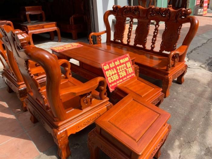 Bộ bàn ghế giả cổ minh quốc đào gỗ gụ6