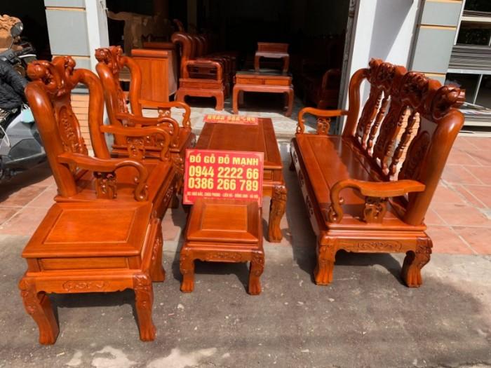 Bộ bàn ghế giả cổ minh quốc đào gỗ gụ2