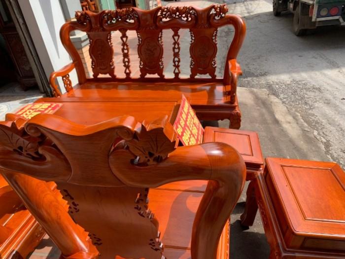 Bộ bàn ghế giả cổ minh quốc đào gỗ gụ3