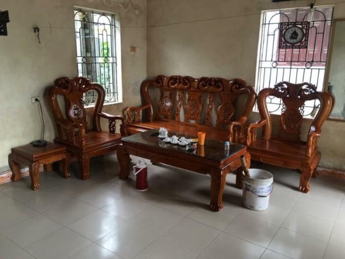 Bộ bàn ghế giả cổ minh quốc đào gỗ gụ9