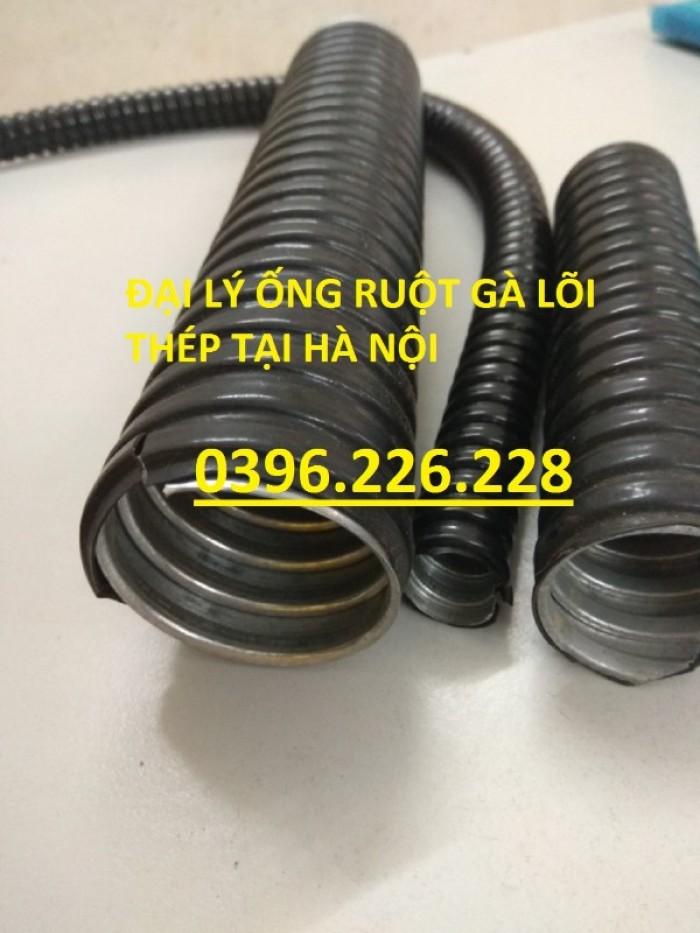 Bảng giá ống ruột gà lõi thép bọc nhựa phi 16(1/2) hàng có sẵn tại kho1