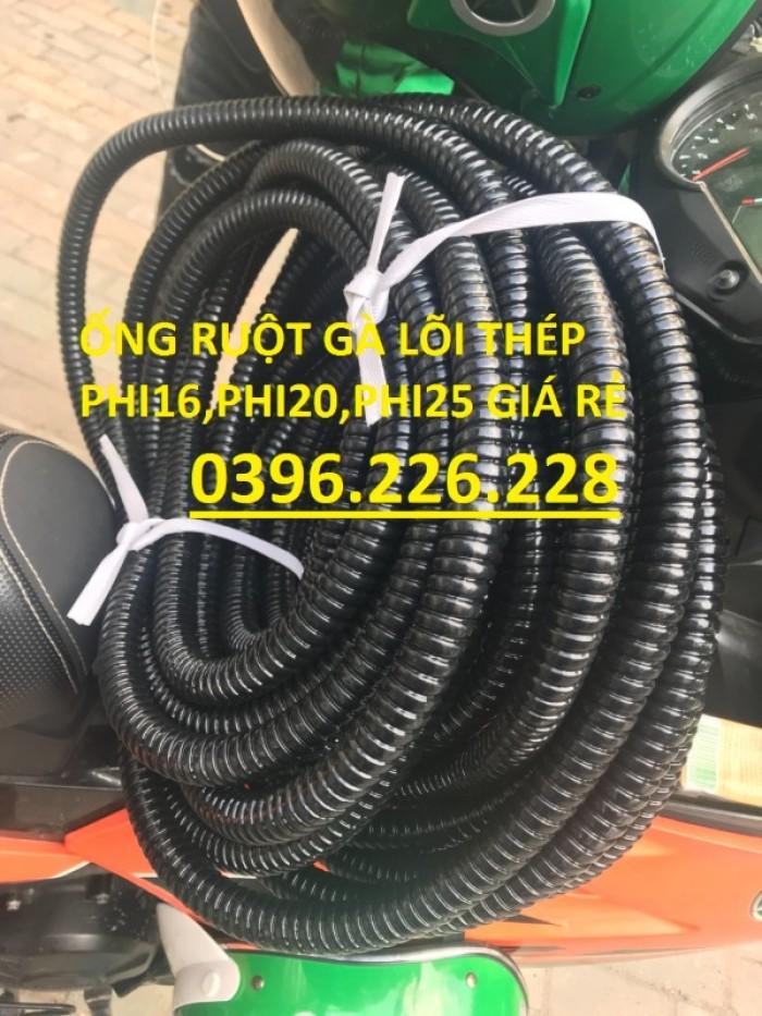 Bảng giá ống ruột gà lõi thép bọc nhựa phi 16(1/2) hàng có sẵn tại kho4