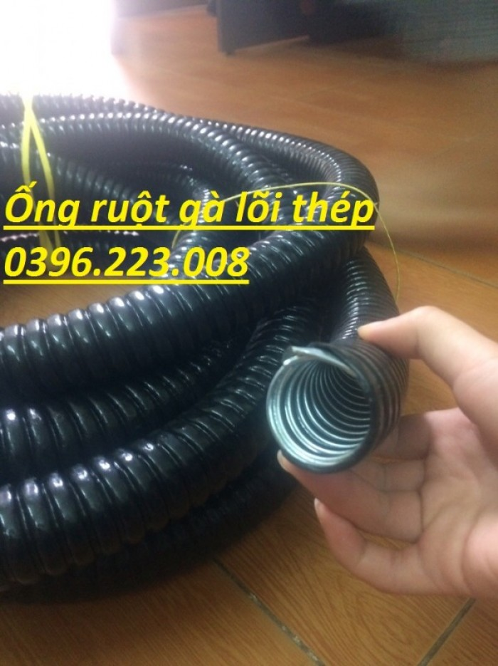 Bảng giá ống ruột gà lõi thép bọc nhựa phi 16(1/2) hàng có sẵn tại kho6