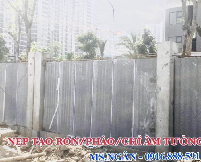 Nẹp tạo chỉ âm tường - Nẹp nhựa cắt ron âm tường dự án Vin Gia Lâm Hà Nội.1