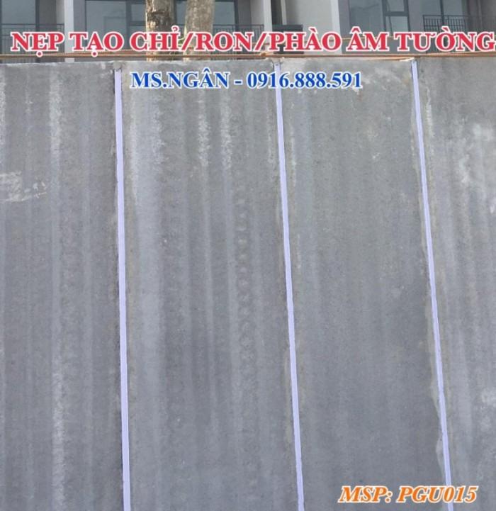 Nẹp tạo chỉ âm tường - Nẹp nhựa cắt ron âm tường dự án Vin Gia Lâm Hà Nội.2