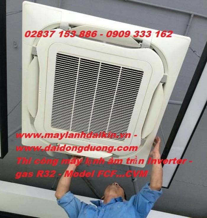 Đại Đông Dương chuyên cung cấp Máy Lạnh Âm Trần Daikin FCFC60DVM/RZFC60DVM-0