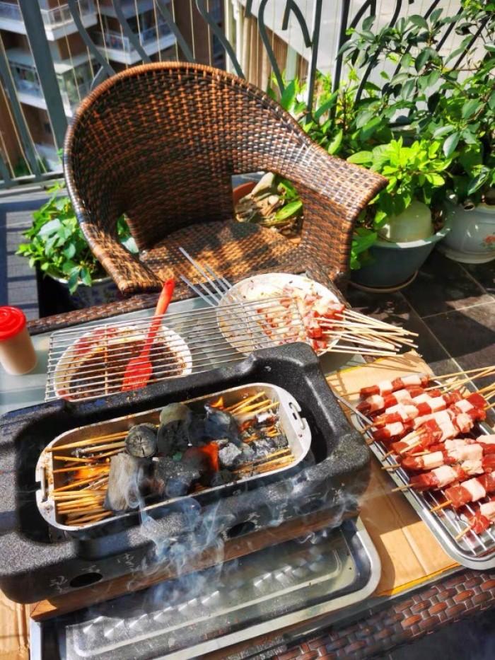 Bán chuyên Bếp nướng than, cồn tại bàn Nhật Bản2