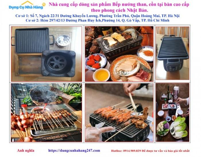 Bán chuyên Bếp nướng than, cồn tại bàn Nhật Bản0