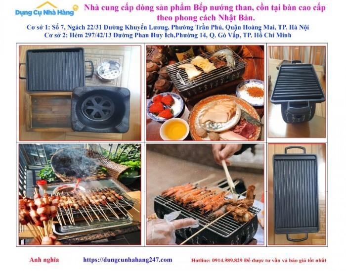 Bán chuyên Bếp nướng than, cồn tại bàn Nhật Bản3