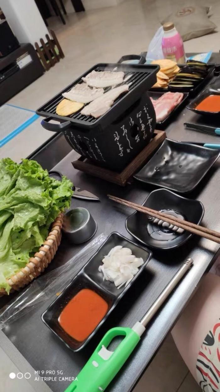 Bán chuyên Bếp nướng than, cồn tại bàn Nhật Bản12
