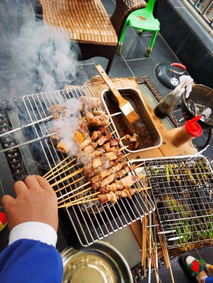 Bán chuyên Bếp nướng than, cồn tại bàn Nhật Bản6