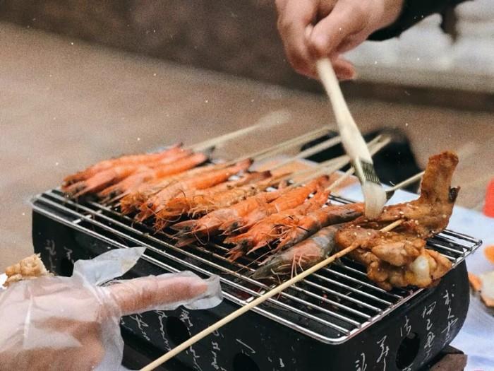 Bán chuyên Bếp nướng than, cồn tại bàn Nhật Bản4