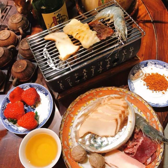 Bán chuyên Bếp nướng than, cồn tại bàn Nhật Bản7