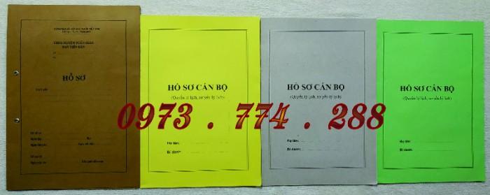 Hồ sơ viên chức mẫu HS01, HS02, HS03, HS04, HS05, HS06, HS09 -VC/BNV14