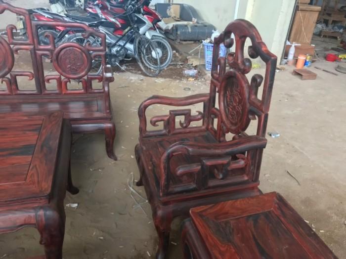 Bộ triện móc gỗ trắc đỏ Lào xịn 8 món siêu hiếm tại quận 70