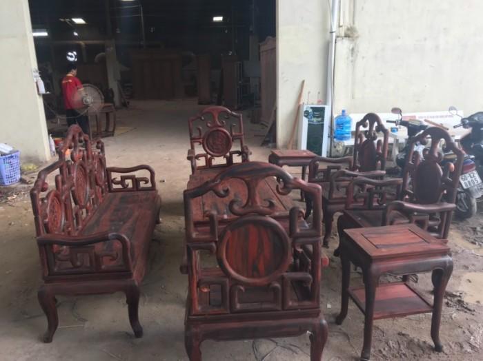 Bộ triện móc gỗ trắc đỏ Lào xịn 8 món siêu hiếm tại quận 72