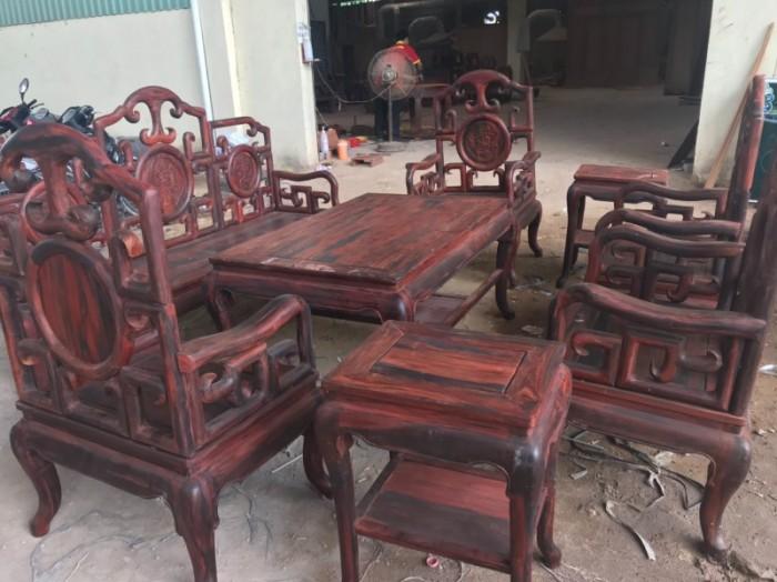 Bộ triện móc gỗ trắc đỏ Lào xịn 8 món siêu hiếm tại quận 73