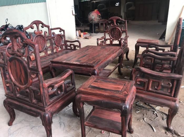Bộ triện móc gỗ trắc đỏ Lào xịn 8 món siêu hiếm tại quận 71