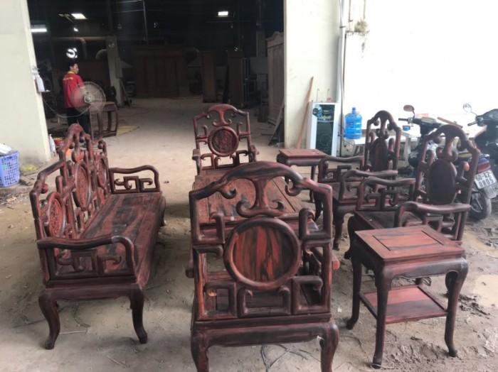 Bộ triện móc gỗ trắc đỏ Lào xịn 8 món siêu hiếm tại quận 75