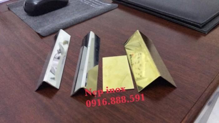 Nẹp Inox 304 Chữ V - Nẹp V Inox Trang Trí - Nẹp V Bảo Vệ Góc0