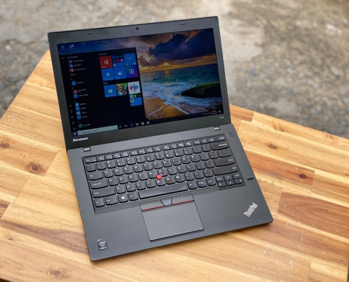 Laptop Lenovo Thinkpad T450, i5 5300U 8G SSD128 Finger Đẹp Zin 100% Giá rẻ3