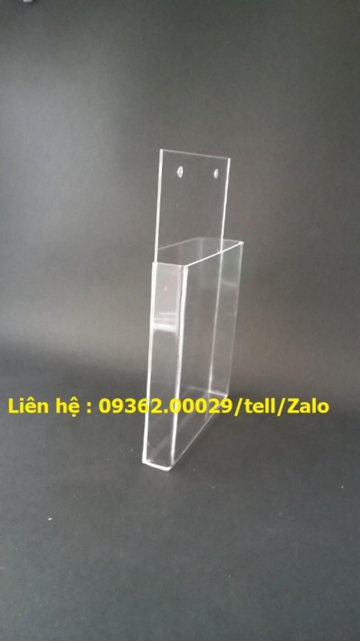 Sản phẩm kệ checklist treo tường, hộp mica giá rẻ17