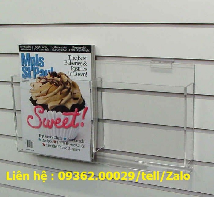 Sản phẩm kệ checklist treo tường, hộp mica giá rẻ11