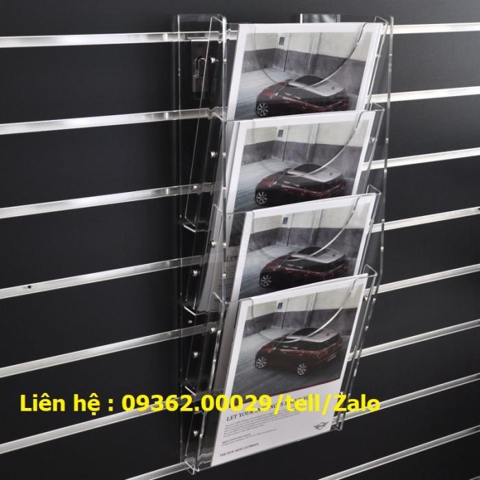 Sản phẩm kệ checklist treo tường, hộp mica giá rẻ10