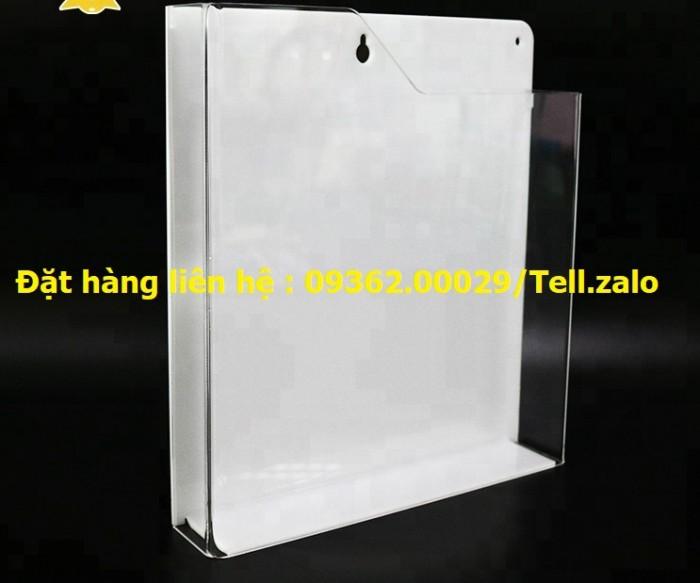 Sản phẩm kệ checklist treo tường, hộp mica giá rẻ13