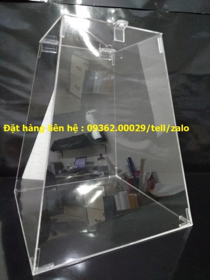 Sản phẩm kệ checklist treo tường, hộp mica giá rẻ21