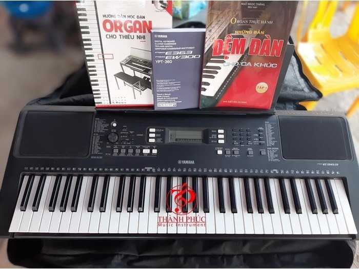 Đàn organ E363. đẹp 99%.3