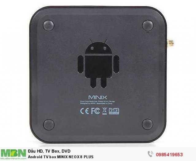 Android TV box MINIX NEOX 8 PLUS2