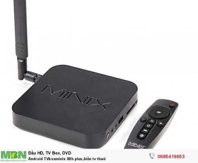 Android TVboxminix X8h plus,biến tv thườ2