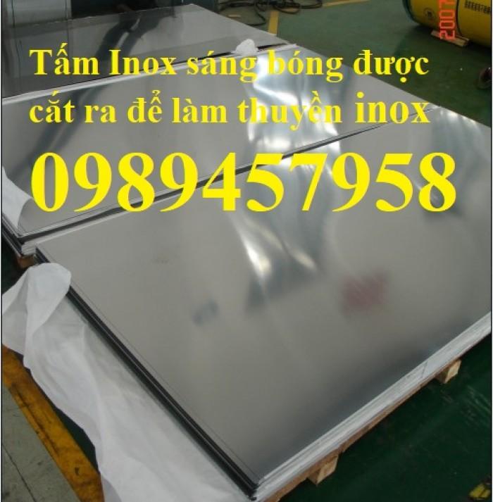Sản xuất Thuyền inox chèo tay chở 2 người, Thuyền Inox giá rẻ5