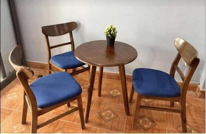 Bàn ghế cafe gỗ sơn P,U..4